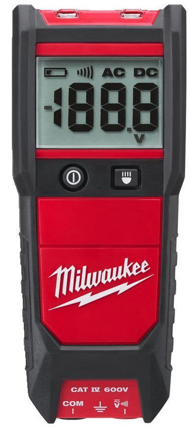Tester napatia Milwaukee 2212-20, 2xAAA