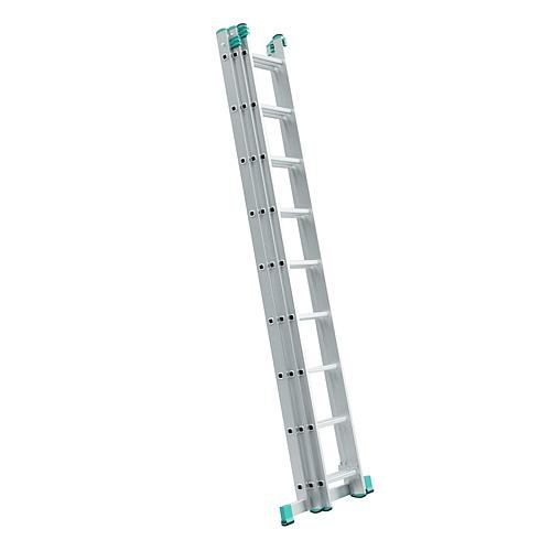 Rebrík ALVE 7611, 3x11, univerzálny, A315 B711