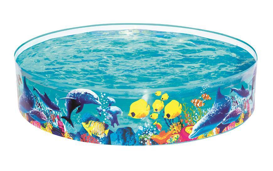 Bazen Bestway® 55030, detský, 183x38 cm, Fill 'N Fun Odyssey