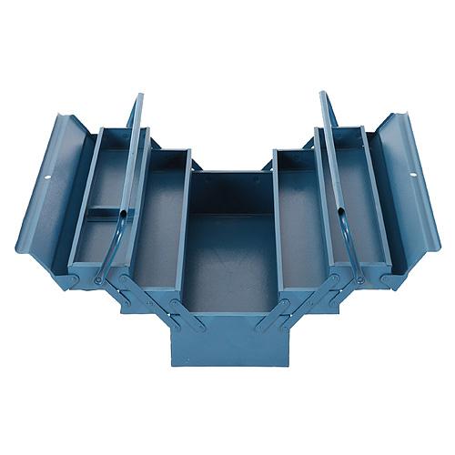 Kufor na náradie TB101E, 530x200x210 mm, 5 dielny, kovový box
