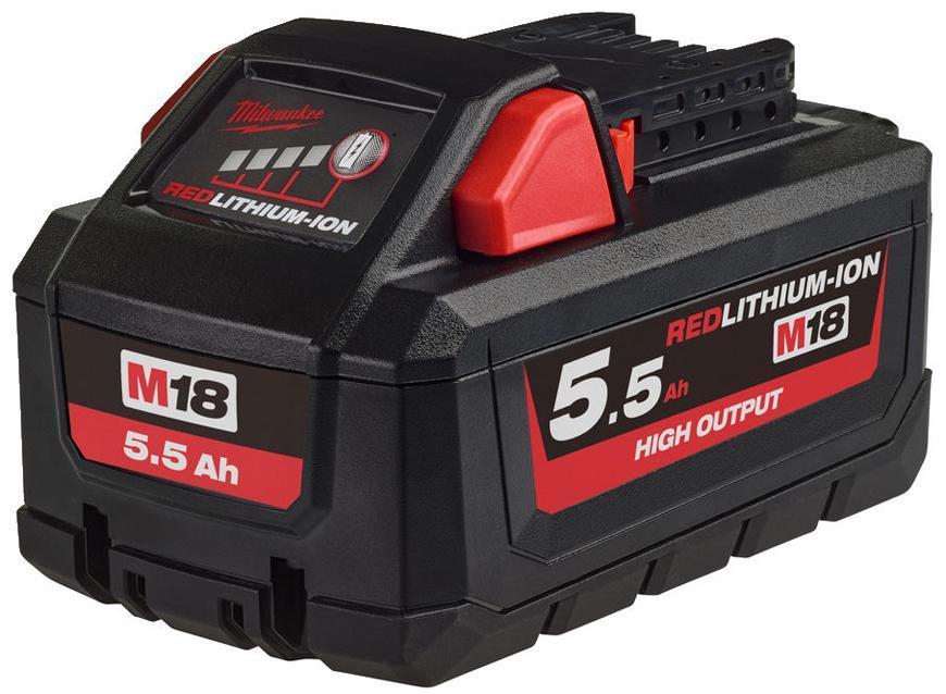 Akumulator Milwaukee M18 HB5.5 Li-ion, 18V, 5.5 Ah