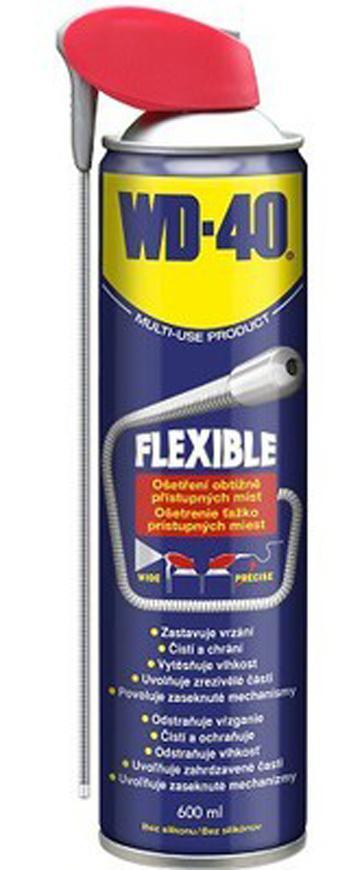 Sprej WD-40® Flexible 600 ml, flexibilná trubička