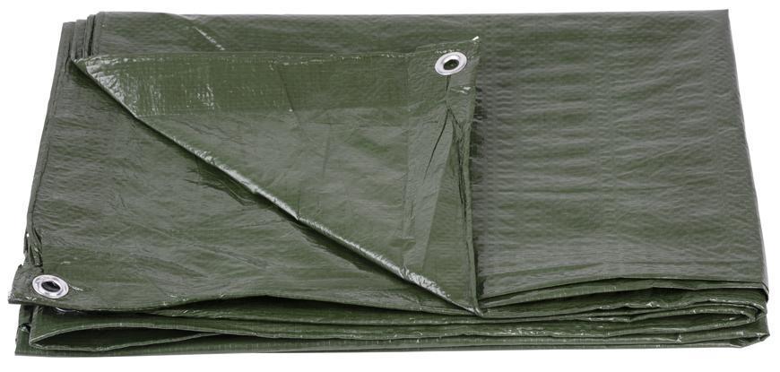 Plachta Tarpaulin Light 08,0x12,0 m, 65 g/m, zakrývacia, zelená