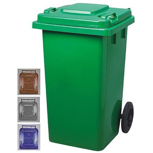 Nadoba Strend Pro GB2, 120 lit, hnedá, popolnica na odpad