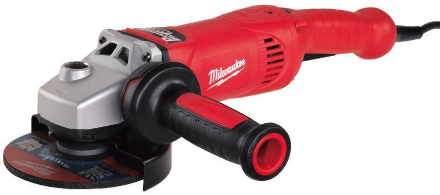 Bruska Milwaukee® AGV 17-125 Inox, 125 mm, 1750W, protector-motor, uhlová