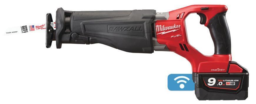 Pila Milwaukee M18 ONESX-902X, 2x9.0 Ah, chvostova