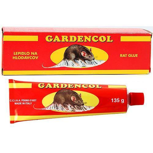 Lepidlo Gardencol, 135 g, na hlodavce a hmyz