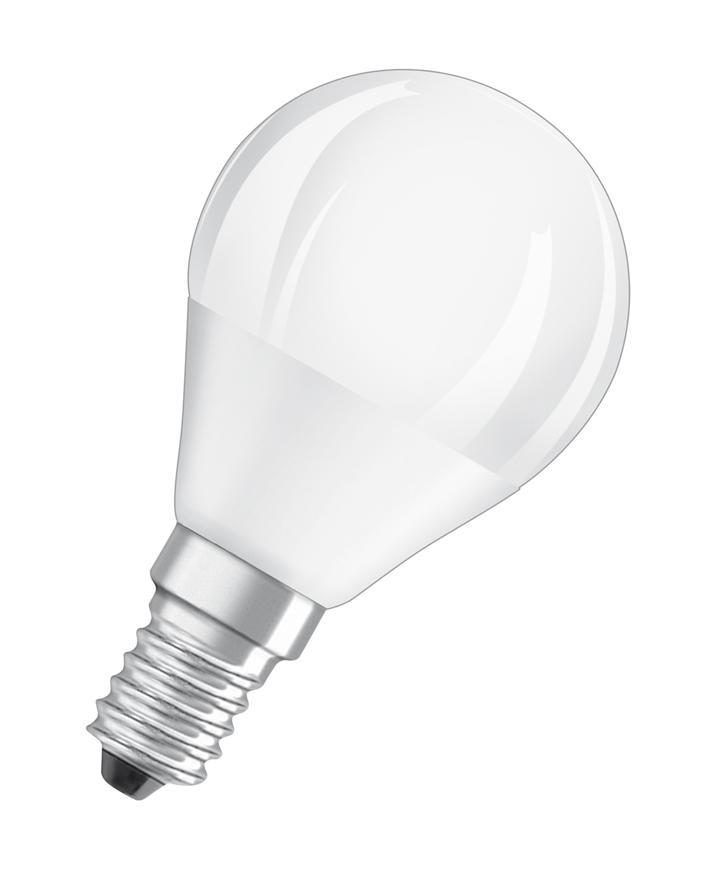 Ziarovka OSRAM® LED FR 040 (ean7898) non-dim, 5,7W/827 E14 2700K Value CLASSIC P