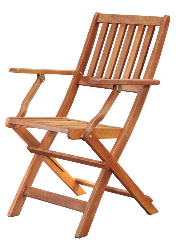 Stolička LEQ HERRINGE, drevená, s opierkami