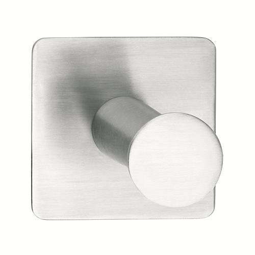 Háčik tesa® Powerbutton, Chróm, max. 5 kg