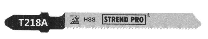 List do priamočiarej píly Strend Pro T218A 77 mm, 21z, na kov, bal. 5 ks