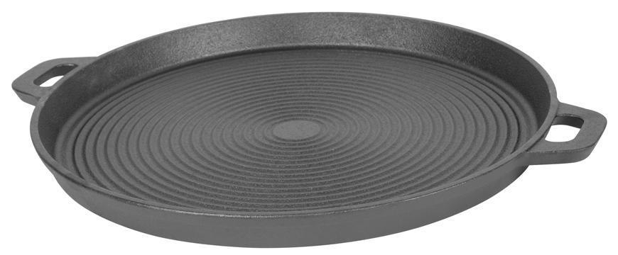 Platňa MagicHome, grilovacia, liatinová, okrúhla, 340x35 mm