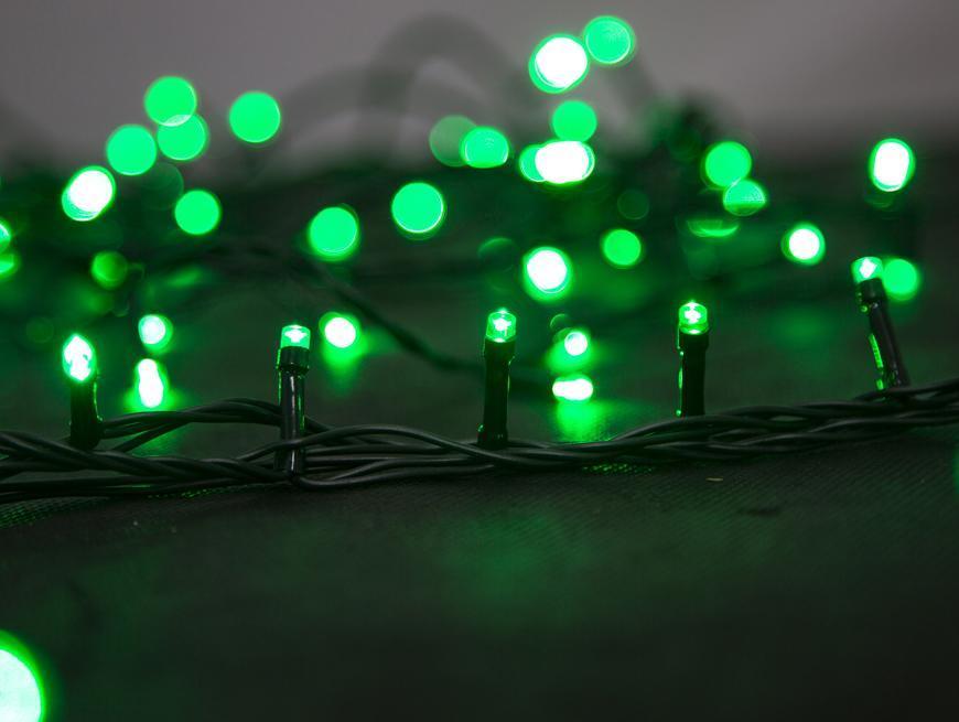 Retaz MagicHome Serpens 100L LED zelená, IP44, 8 funkcii, s adapterom, exteriér