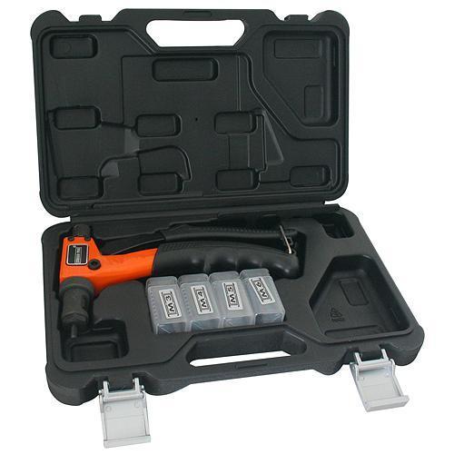 Kliešte Strend Pro BT-603, 200 mm, nitovacie, pákové, pre maticové nity, v kufri