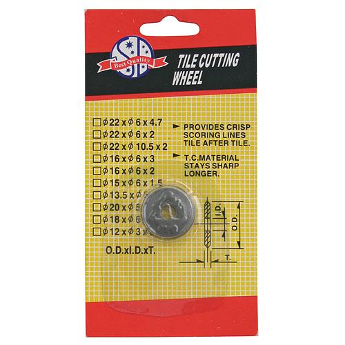 Koliesko ULTRA PRO (22,5x6 mm), náhradné, pre rezač dlažby 212907,212908 a 212910