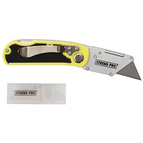 Nôž Strend Pro UKX-203, skladací, Alu/plast