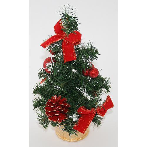 Stromcek MagicHome Xm5276R, 30 cm, pine, red