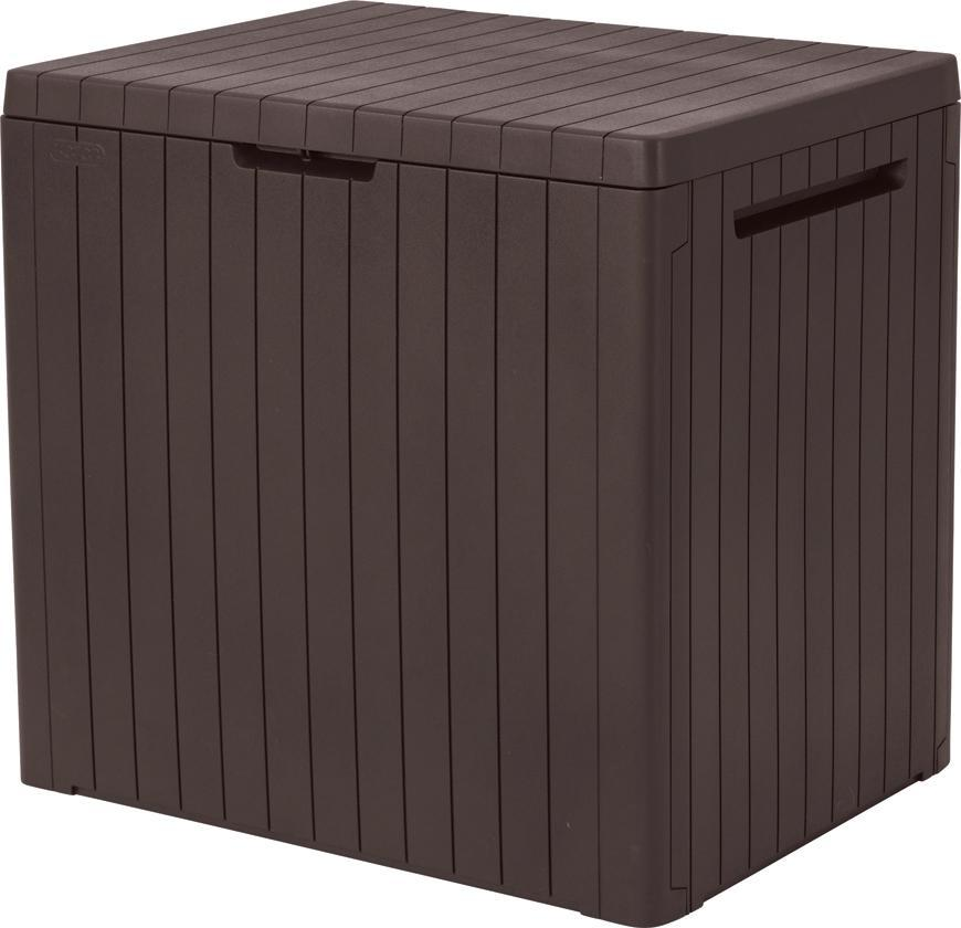 Box Keter® City storage box 113L, hnedý