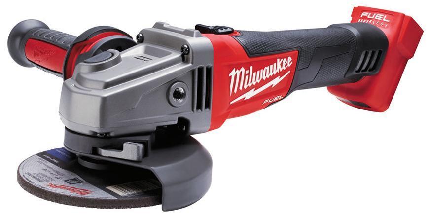 Bruska Milwaukee® M18 CAG125X-0X, uhlová