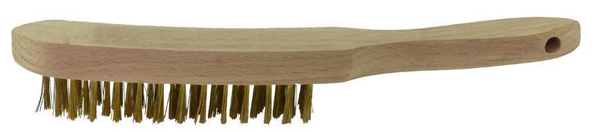 Kefa BBC4, 4 radová, mosadzná, drevená rúčka