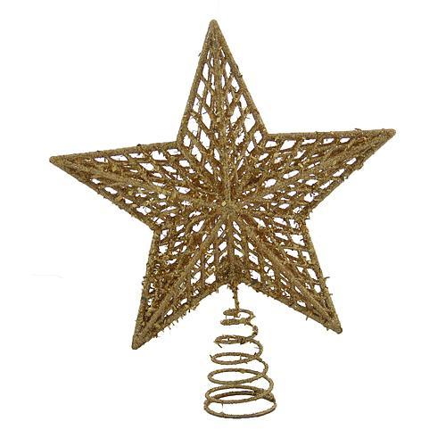 Ozdoba MagicHome XO344A, Hviezda zlatá
