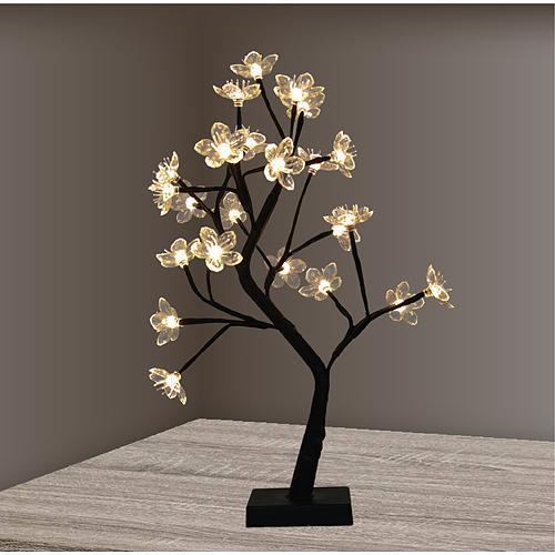 Dekoracia MagicHome XL9036, Kvetinový konárik, LED, 3xAA