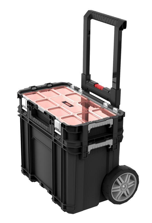 Box Keter® 17205661, CONNECT Cart+Organizer