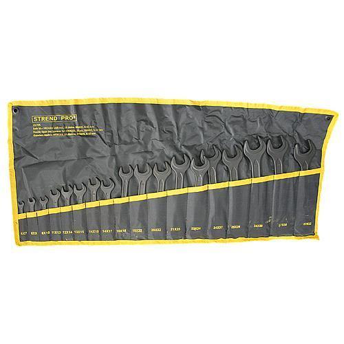 Sada kľúčov Strend Pro HR34183 vidlicová, 18 dielna, DIN895, 6-32 mm