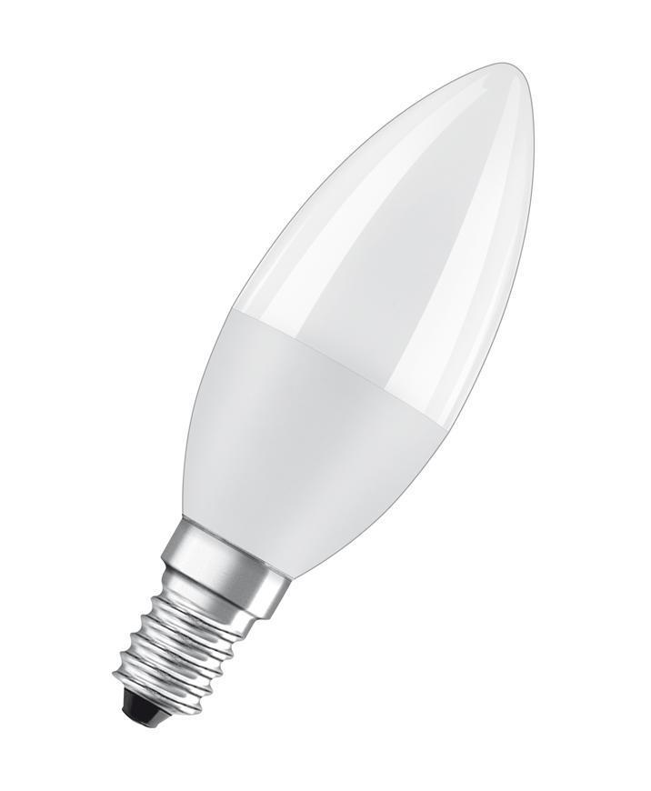 Ziarovka OSRAM® LED FR 060 (ean2915) non-dim, 7W/827 E14 2700K Value CLASSIC B