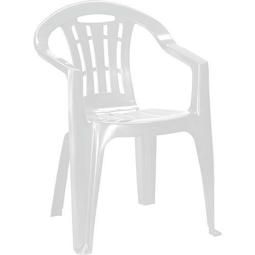 Stolička Curver® MALLORCA, biela