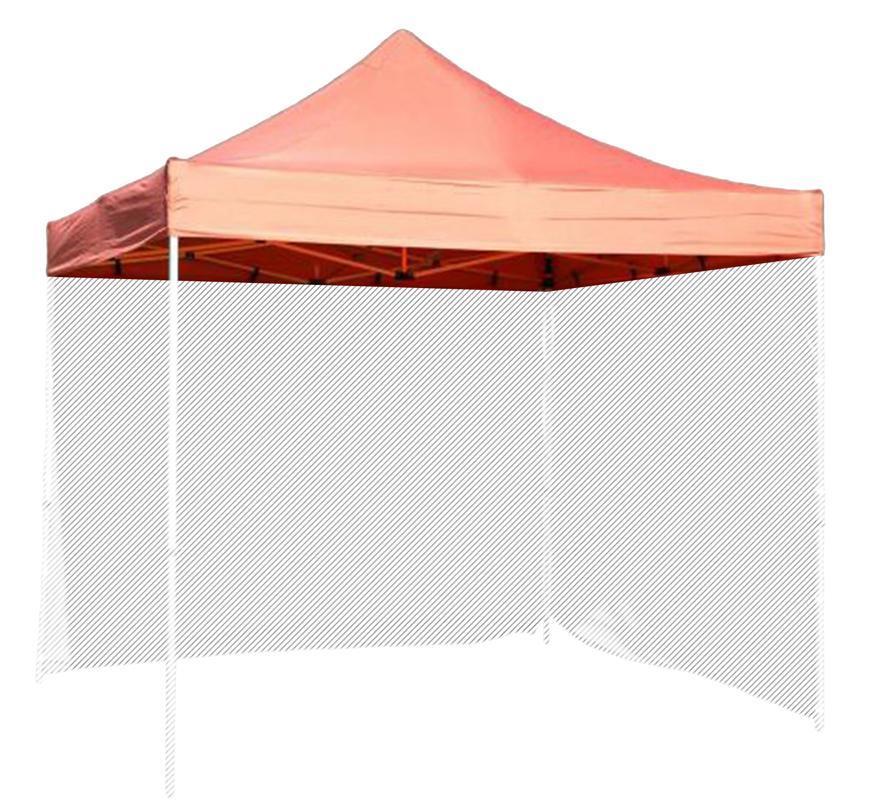 Strecha FESTIVAL 45, červená, pre stan, UV odolná