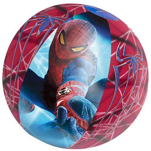 Lopta Bestway® 98002, Spiderman, detská, nafukovacia, do vody, 510 mm