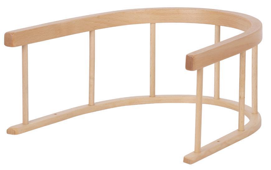Opierka na sánky, drevenná, náhradná, 31x18 cm