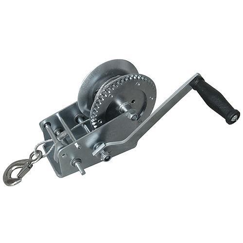 Navijak Strend Pro HW-100-400, račňový, ručný, lano 8 m, 4.5 mm, max. 400 kg