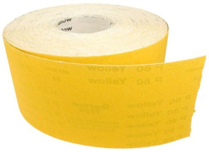 Rola Germaflex Yellow 115 mm, Z180, bal. 50m, papier