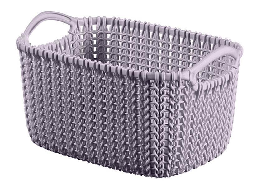 Košík Curver® KNIT 3L, svetlofialový, 25x18x14 cm