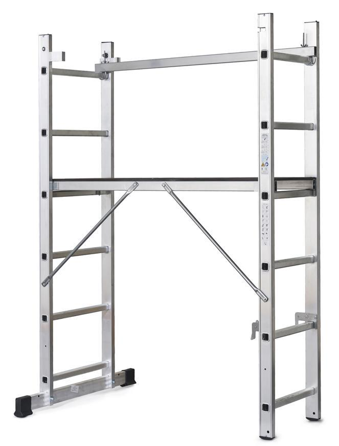 Lešenie s plošinou Strend Pro RU 2x6 BASIC, 3in1, max. 150 kg
