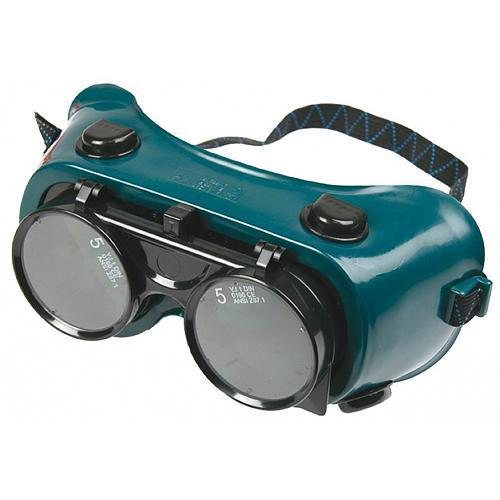 Okuliare Safetyco B606, zváračské s odklápacími zorníkmi