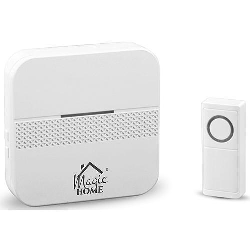 Zvoncek MagicHome Intelligent4, bezdrôtový, domový, počet melódií 30, LED, IP44