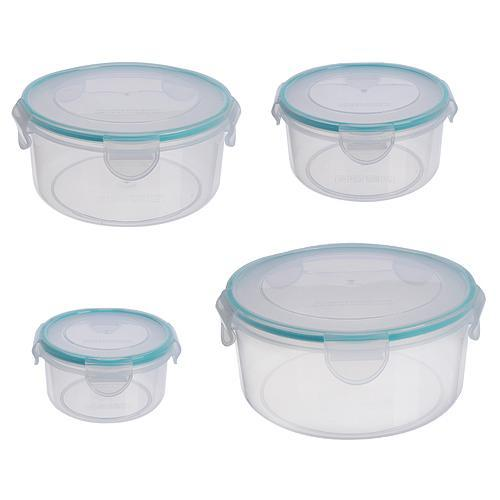 Doza MagicHome Lunchbox set 07x4 0,40/0,80/1,50/2,30 lit, sada 4 ks, okrúhle, Clip