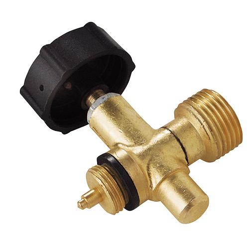 Plynový ventil Meva 2156UV, LPG, jednocestný regulátor, závit W21.8 L