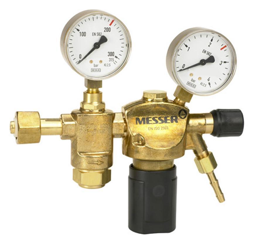 "Ventil Messer 716.20128, G1/4"", DN6, 1.5 bar, Ochr. a vzacny plyn, 2st."