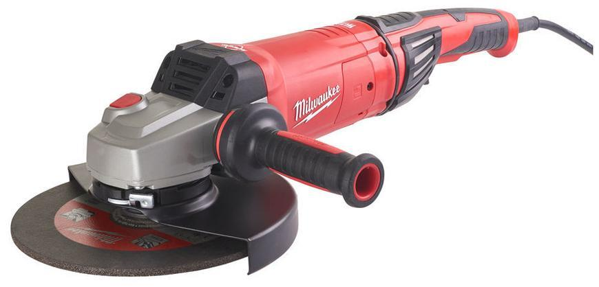 Bruska Milwaukee® AGVKB 24-230 EKX, 230 mm, 2400W, AVS, Rapidstop, uhlová