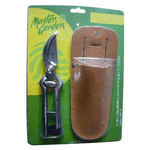 Nožnice Strend Pro P8608, 200 mm, záhradné, na kvety, púzdro koža