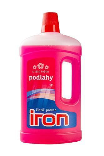 IRON 1000 ml, čistič na podlahy, vôňa kvetín