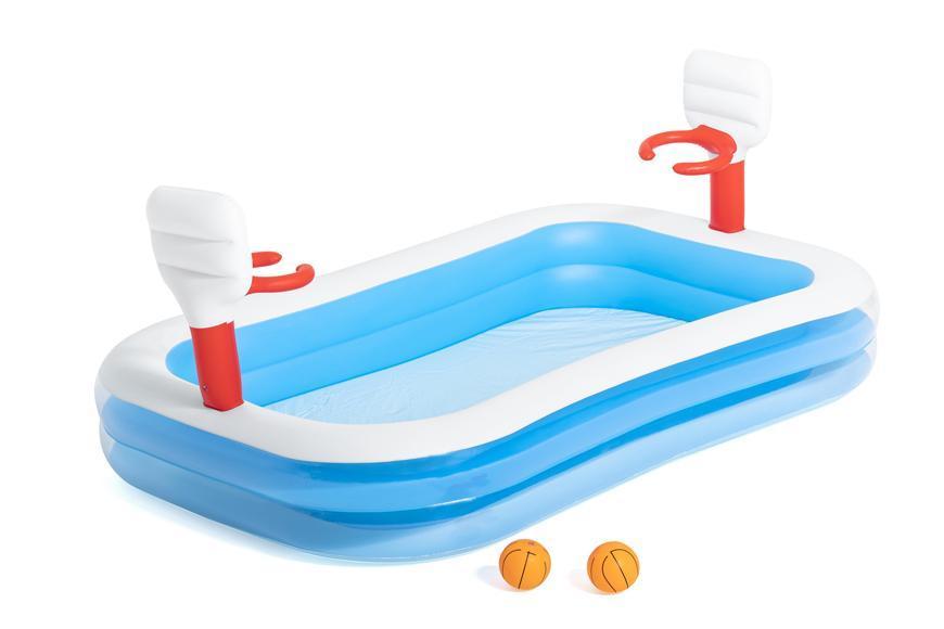 Bazén Bestway® 54122, Basketball, detský, nafukovací, 2,51x1,68x1,02 m