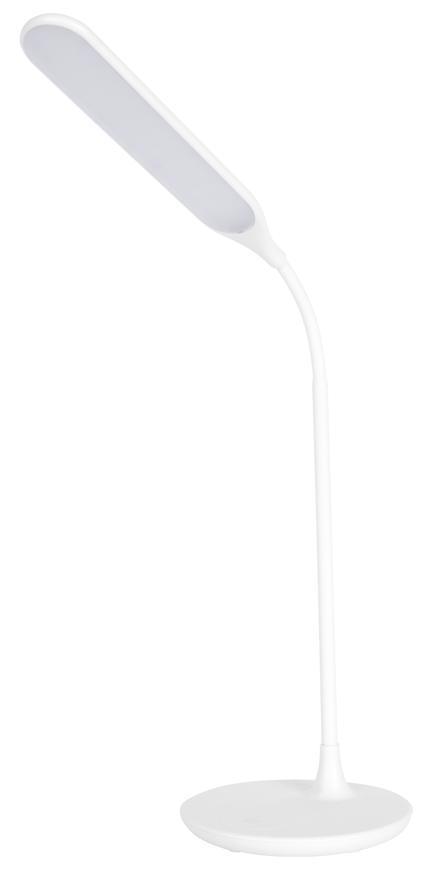 Lampa LED, stolná, stmievateľná, biela, 6 W, 4500 K