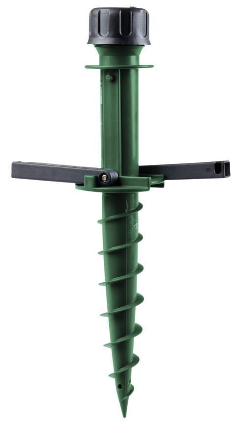 Stojan na slnečník Strend Pro OD-50265, skrutka do zeme, 22-34mm