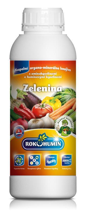 Hnojivo Rokohumin Zelenina, 1 lit