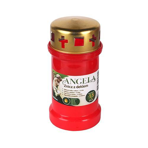 Napln bolsius Angela 36HD červená, 35 h, 148 g, olej